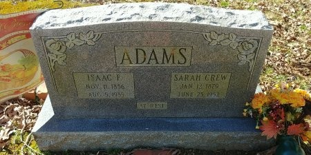 ADAMS, SARAH - Charles City County, Virginia | SARAH ADAMS - Virginia Gravestone Photos
