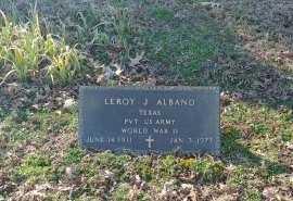 ALBAND, LEROY J - Charles City County, Virginia | LEROY J ALBAND - Virginia Gravestone Photos