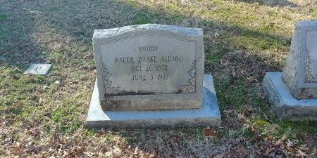 ALBAND, MAUDE - Charles City County, Virginia | MAUDE ALBAND - Virginia Gravestone Photos