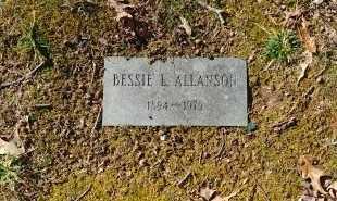 ALLANSON, BESSIE L - Charles City County, Virginia | BESSIE L ALLANSON - Virginia Gravestone Photos