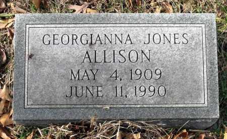 ALLISON, GEORGIANNA - Charles City County, Virginia   GEORGIANNA ALLISON - Virginia Gravestone Photos