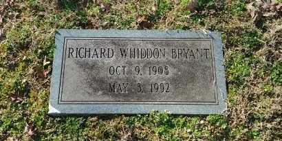 BRYANT, RICHARD WHIDDON - Charles City County, Virginia   RICHARD WHIDDON BRYANT - Virginia Gravestone Photos