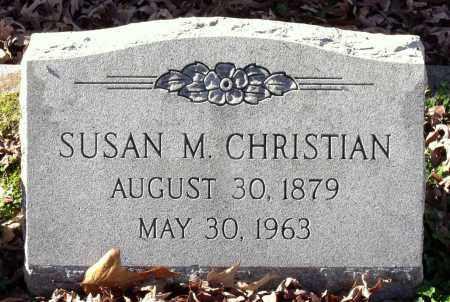 CHRISTIAN, SUSAN M. - Charles City County, Virginia | SUSAN M. CHRISTIAN - Virginia Gravestone Photos