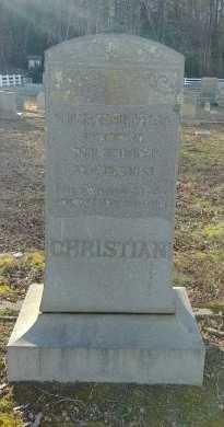 CHRISTIAN, THOMAS L - Charles City County, Virginia | THOMAS L CHRISTIAN - Virginia Gravestone Photos