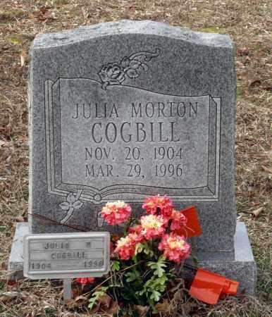 MORTON COGBILL, JULIA - Charles City County, Virginia   JULIA MORTON COGBILL - Virginia Gravestone Photos