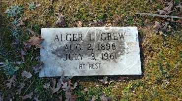 CREW, ALGER A - Charles City County, Virginia | ALGER A CREW - Virginia Gravestone Photos
