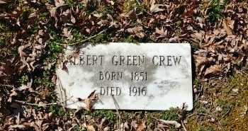 CREW, ALBERT GREEN - Charles City County, Virginia | ALBERT GREEN CREW - Virginia Gravestone Photos