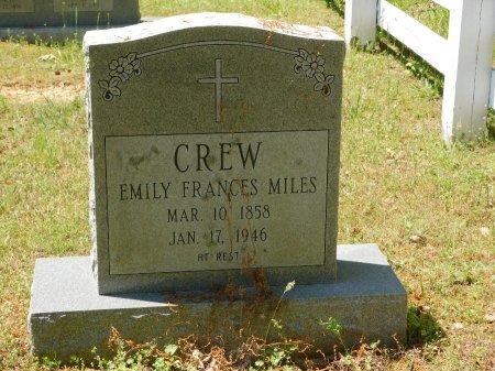 CREW, EMILY - Charles City County, Virginia   EMILY CREW - Virginia Gravestone Photos