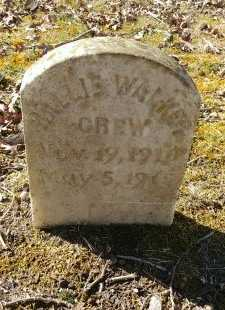 WALKER CREW, MOLLIE - Charles City County, Virginia | MOLLIE WALKER CREW - Virginia Gravestone Photos