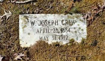 CREW, W JOSEPH - Charles City County, Virginia   W JOSEPH CREW - Virginia Gravestone Photos