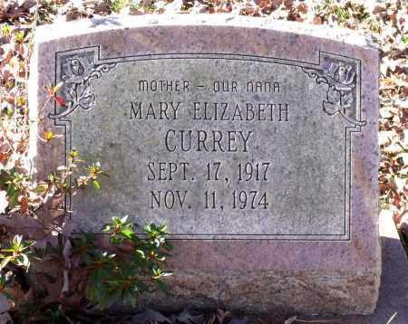 CURREY, MARY ELIZABETH - Charles City County, Virginia | MARY ELIZABETH CURREY - Virginia Gravestone Photos