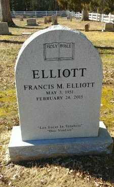 ELLIOTT, FRANCIS M - Charles City County, Virginia | FRANCIS M ELLIOTT - Virginia Gravestone Photos