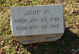 FESLER, JOHN W - Charles City County, Virginia   JOHN W FESLER - Virginia Gravestone Photos