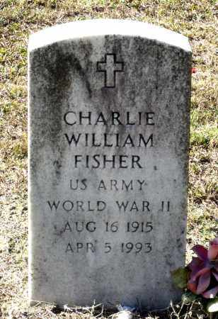 FISHER, CHARLIE WILLIAM - Charles City County, Virginia   CHARLIE WILLIAM FISHER - Virginia Gravestone Photos