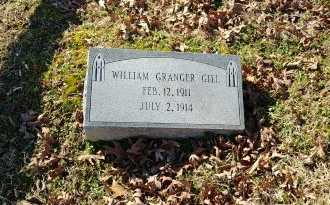 GILL, WILLIAM GRANGER - Charles City County, Virginia | WILLIAM GRANGER GILL - Virginia Gravestone Photos