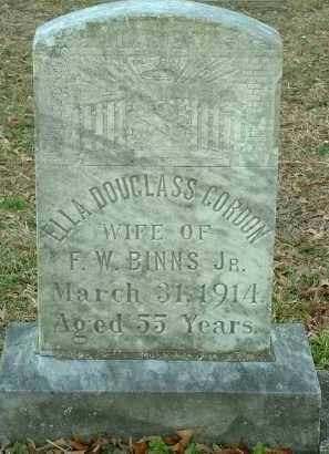 GORDON, ELLA - Charles City County, Virginia   ELLA GORDON - Virginia Gravestone Photos