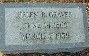 GRAVES, HELEN B. - Charles City County, Virginia   HELEN B. GRAVES - Virginia Gravestone Photos