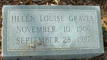 GRAVES, HELEN LOUISE - Charles City County, Virginia | HELEN LOUISE GRAVES - Virginia Gravestone Photos