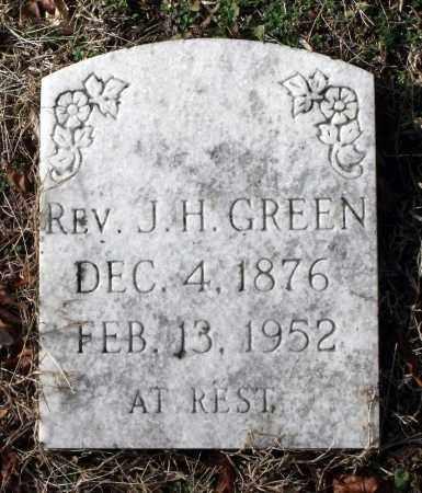 GREEN, J. H. - Charles City County, Virginia | J. H. GREEN - Virginia Gravestone Photos