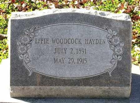 HAYDEN, EFFIE - Charles (City of) County, Virginia | EFFIE HAYDEN - Virginia Gravestone Photos