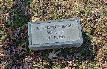 HAYDEN, JOHN LLEWELYN - Charles City County, Virginia | JOHN LLEWELYN HAYDEN - Virginia Gravestone Photos