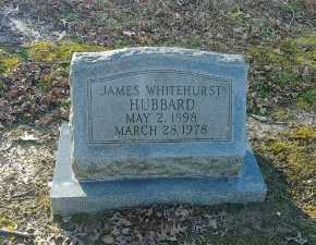 HUBBARD, JAMES WHITEHURST - Charles City County, Virginia | JAMES WHITEHURST HUBBARD - Virginia Gravestone Photos