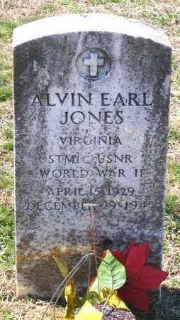 JONES, ALVIN EARL - Charles (City of) County, Virginia | ALVIN EARL JONES - Virginia Gravestone Photos