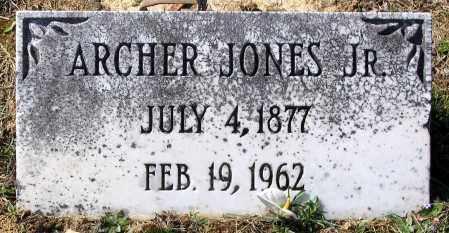 JONES, ARTCHER JR. - Charles (City of) County, Virginia | ARTCHER JR. JONES - Virginia Gravestone Photos