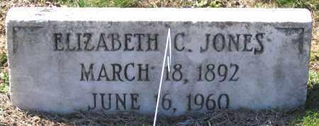 JONES, ELIZABETH C. - Charles (City of) County, Virginia | ELIZABETH C. JONES - Virginia Gravestone Photos
