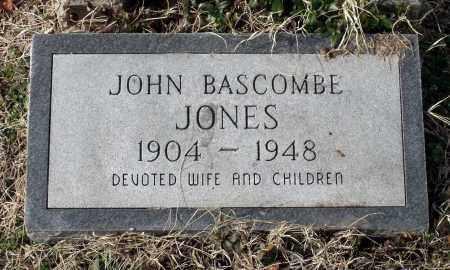 JONES, JOHN BASCOMBE - Charles (City of) County, Virginia | JOHN BASCOMBE JONES - Virginia Gravestone Photos