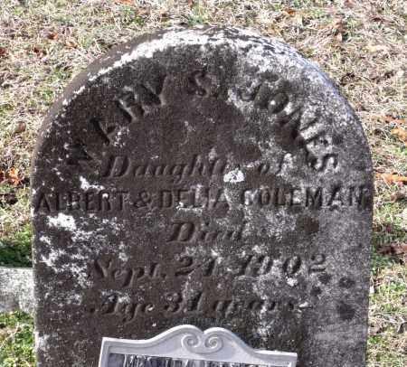 JONES, MARY S. - Charles (City of) County, Virginia | MARY S. JONES - Virginia Gravestone Photos