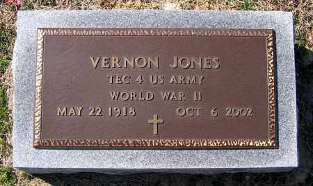 JONES, VERNON - Charles (City of) County, Virginia   VERNON JONES - Virginia Gravestone Photos