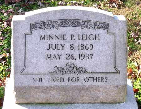 LEIGH, MINNIE P. - Charles City County, Virginia | MINNIE P. LEIGH - Virginia Gravestone Photos