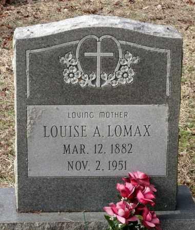 LOMAX, LOUISE A. - Charles City County, Virginia | LOUISE A. LOMAX - Virginia Gravestone Photos