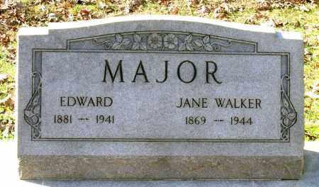 MAJOR, JANE - Charles City County, Virginia | JANE MAJOR - Virginia Gravestone Photos