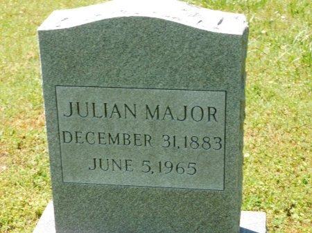 MAJOR, JULIAN - Charles City County, Virginia | JULIAN MAJOR - Virginia Gravestone Photos