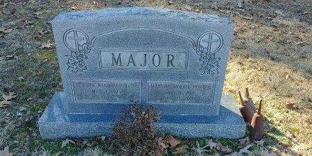 PORTER MAJOR, MARTHA MOORE - Charles City County, Virginia | MARTHA MOORE PORTER MAJOR - Virginia Gravestone Photos