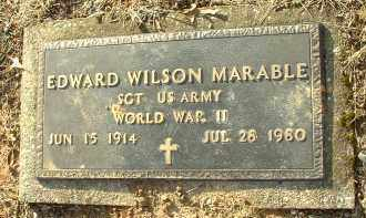 MARABLE, EDWARD WILSON - Charles City County, Virginia | EDWARD WILSON MARABLE - Virginia Gravestone Photos