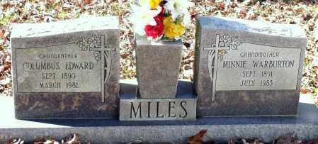 MILES, COLUMBUS EDWARD - Charles (City of) County, Virginia | COLUMBUS EDWARD MILES - Virginia Gravestone Photos
