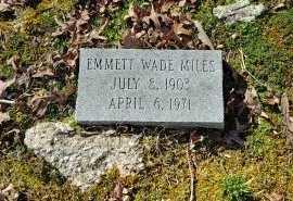 MILES, EMMETT WADE - Charles City County, Virginia   EMMETT WADE MILES - Virginia Gravestone Photos