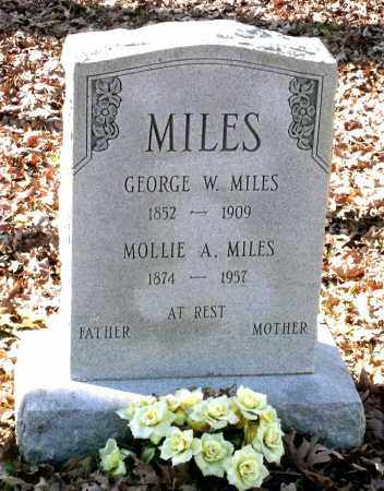 MILES, GEORGE W. - Charles (City of) County, Virginia | GEORGE W. MILES - Virginia Gravestone Photos