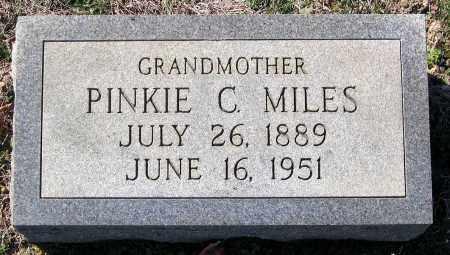 MILES, PINKIE C. - Charles (City of) County, Virginia | PINKIE C. MILES - Virginia Gravestone Photos