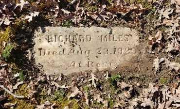 MILES, RICHARD - Charles City County, Virginia   RICHARD MILES - Virginia Gravestone Photos