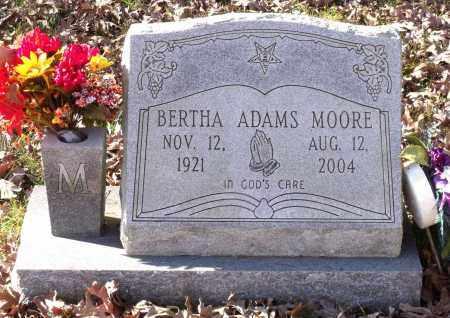 MOORE, BERTHA - Charles City County, Virginia | BERTHA MOORE - Virginia Gravestone Photos