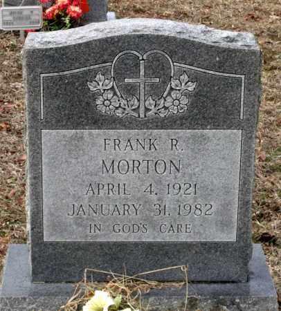MORTON, FRANK R. - Charles City County, Virginia   FRANK R. MORTON - Virginia Gravestone Photos