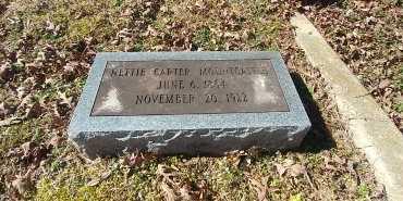 CARTER MOUNTCASTLE, NETTIE - Charles City County, Virginia   NETTIE CARTER MOUNTCASTLE - Virginia Gravestone Photos