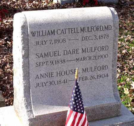 MULFORD, WILLIAM CATTELL - Charles (City of) County, Virginia | WILLIAM CATTELL MULFORD - Virginia Gravestone Photos