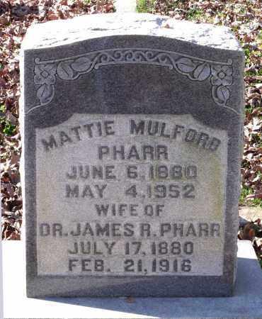 PHARR, MATTIE - Charles City County, Virginia | MATTIE PHARR - Virginia Gravestone Photos