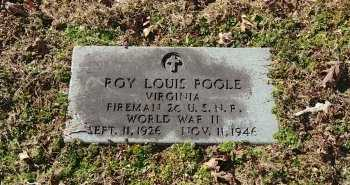 POOLE, ROY LOUIS - Charles City County, Virginia | ROY LOUIS POOLE - Virginia Gravestone Photos
