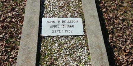 ROLLISON, JOHN W - Charles City County, Virginia | JOHN W ROLLISON - Virginia Gravestone Photos